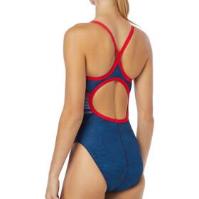 TYR Liberty Diamondfit Swimsuit Damer, red/white/blue